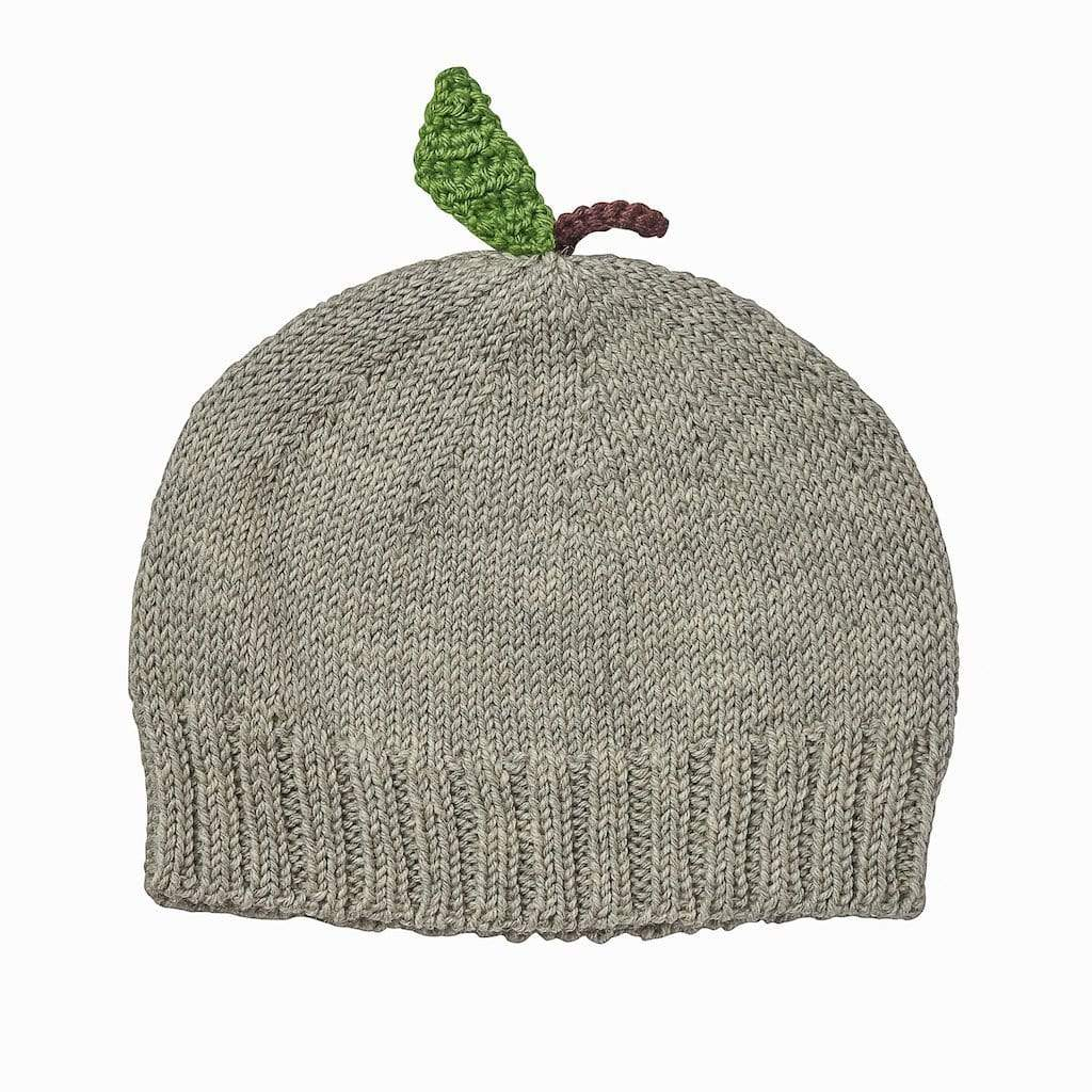 Acorn Beanies M / Grey Acorn Apple Beanie