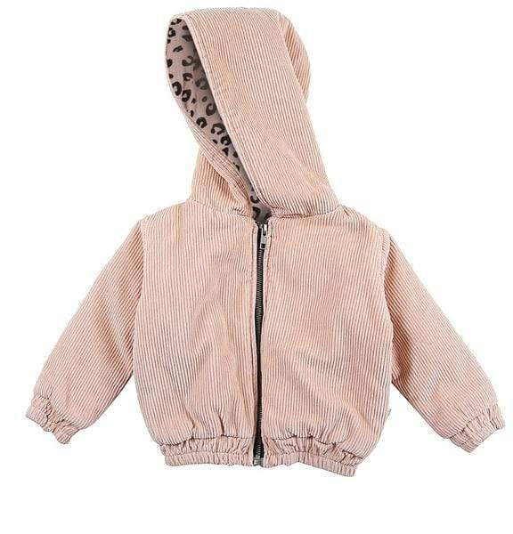 Alex & Ant Jackets Evelyn Jacket - Blush Leopard