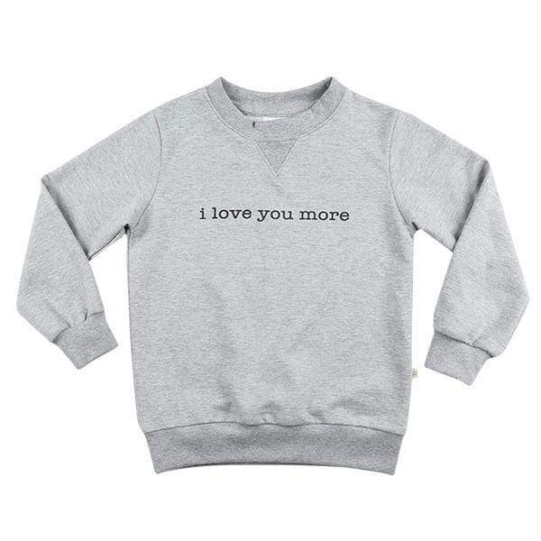 Love Sweater - Terry Grey