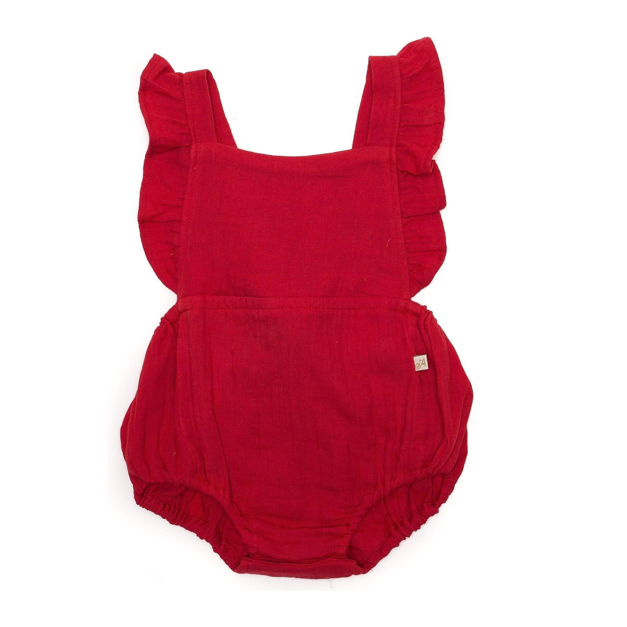 Mima Playsuit Red