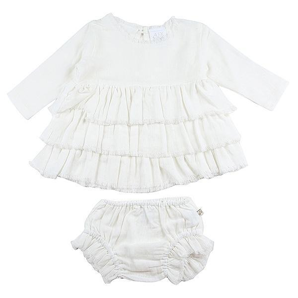 Alex & Ant Playsuit & Jumpsuit Freya Set - Milk
