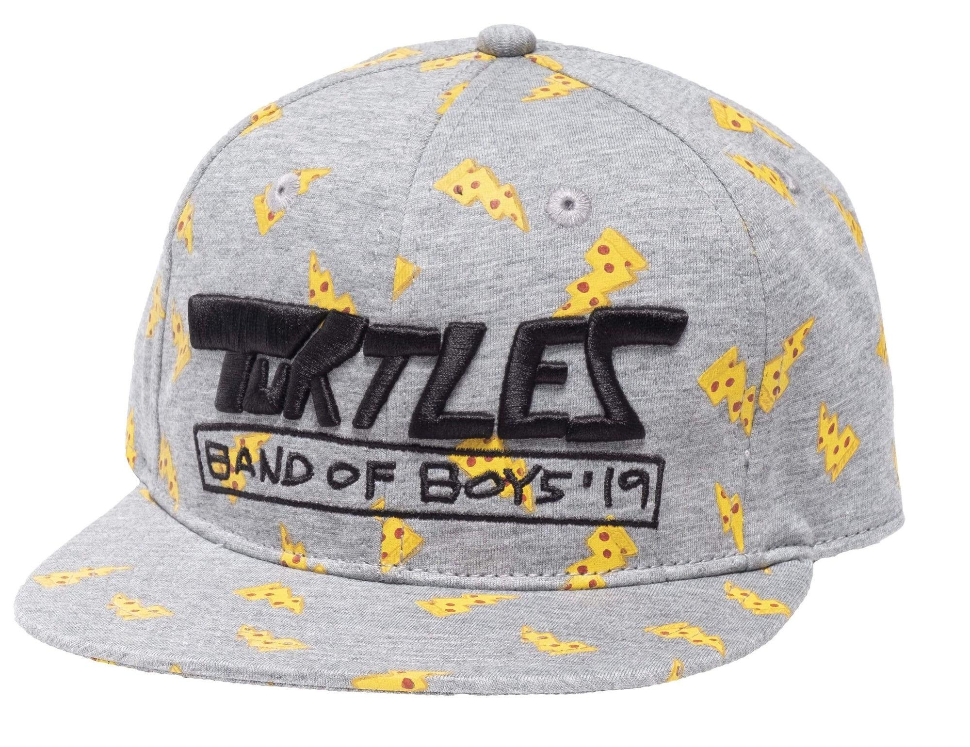BOB X TMNT Pizza AOP Cap - Grey