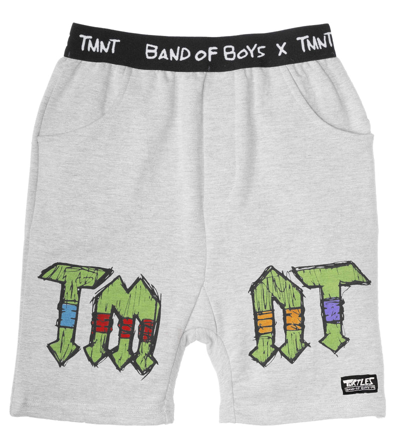 Band of boys Shorts 2 BOB X TMNT Track Short - Marle Grey