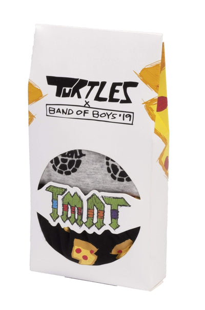 Band of boys Sleep Wear 2-3 BOB X TMNT Boxer Briefs - 2pk Pizza/AOP Shell