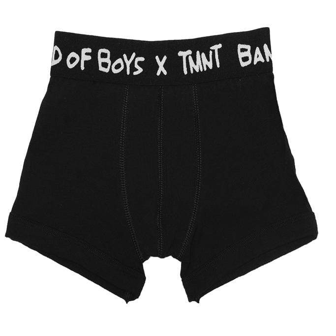 Band of boys Sleep Wear 2-3 BOB X TMNT Boxer Briefs - 2pk Names AOP TMNT