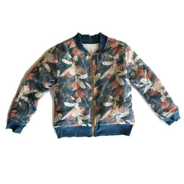 Bomber Jacket - Poney Fields