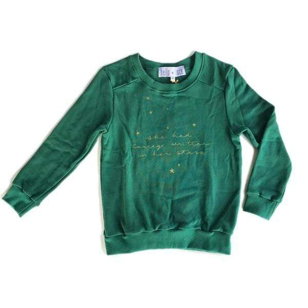 Courage Jumper - Deep Green
