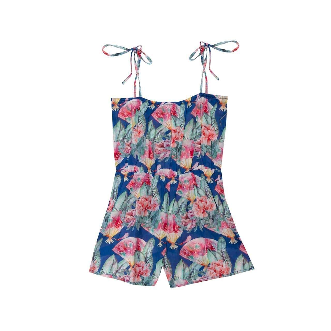 Bella & Lace Playsuit & Jumpsuit 2 Bella & Lace Gretta Jumpsuit - Blue Eyes