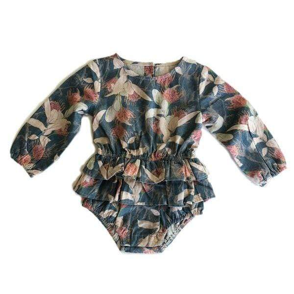 Sparrow Romper - Poney Fields