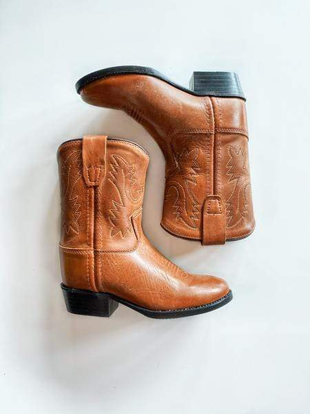 Cowgirl Boots - Tan