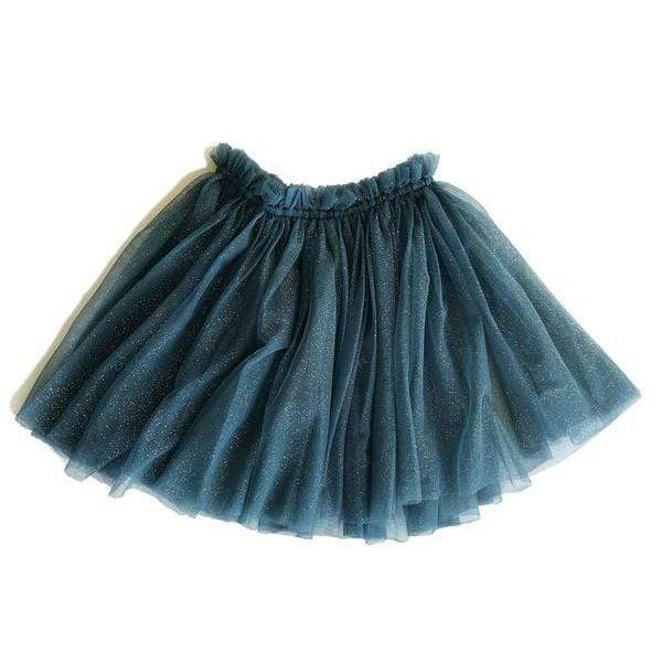 Bella & Lace Skirts Classic Tutu - Vintage Denim Star Dust