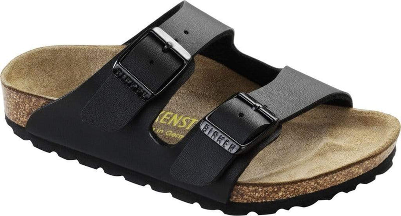 Birkenstock Shoes 28 Arizona Kids BF - Black Narrow