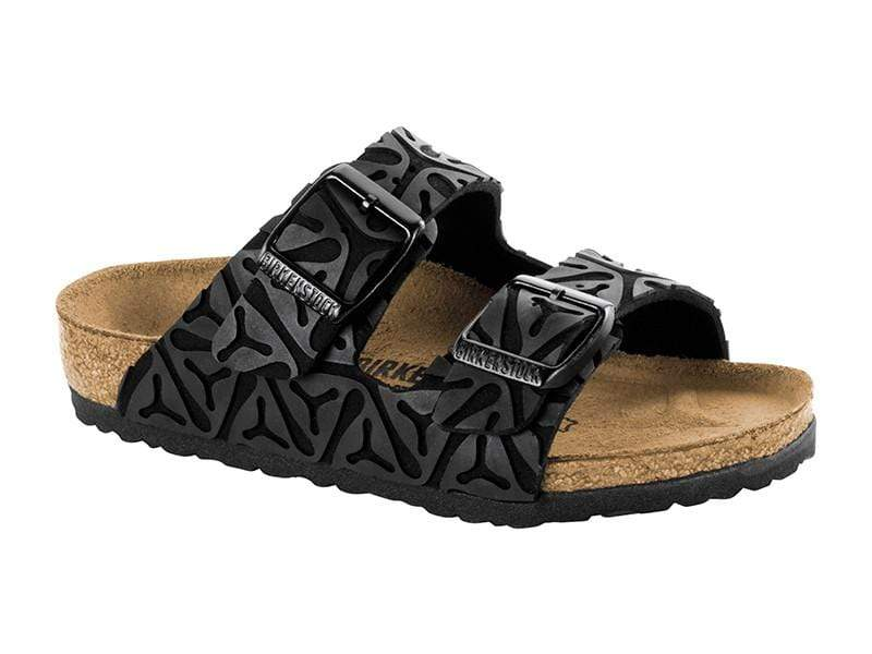 Birkenstock Shoes 28 Arizona Kids MF - Seaweed Black Narrow
