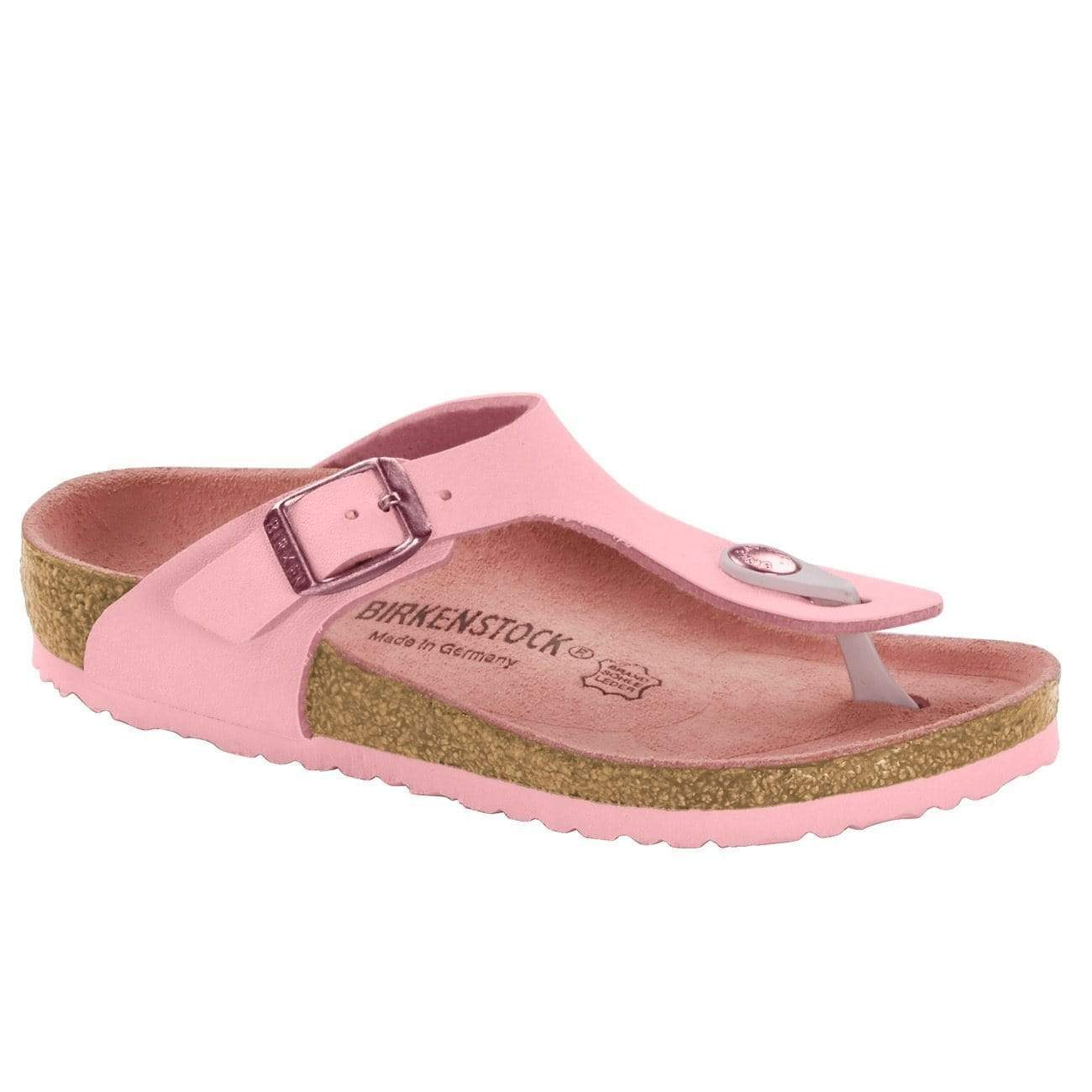 Birkenstock Shoes 30 Gizeh Kids BF - Nubuck Rose Regular