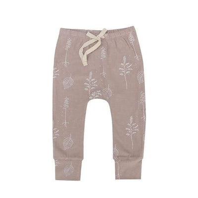 Buck & Baa General 6/12M / Shadow Pink Buck & Baa Leggings