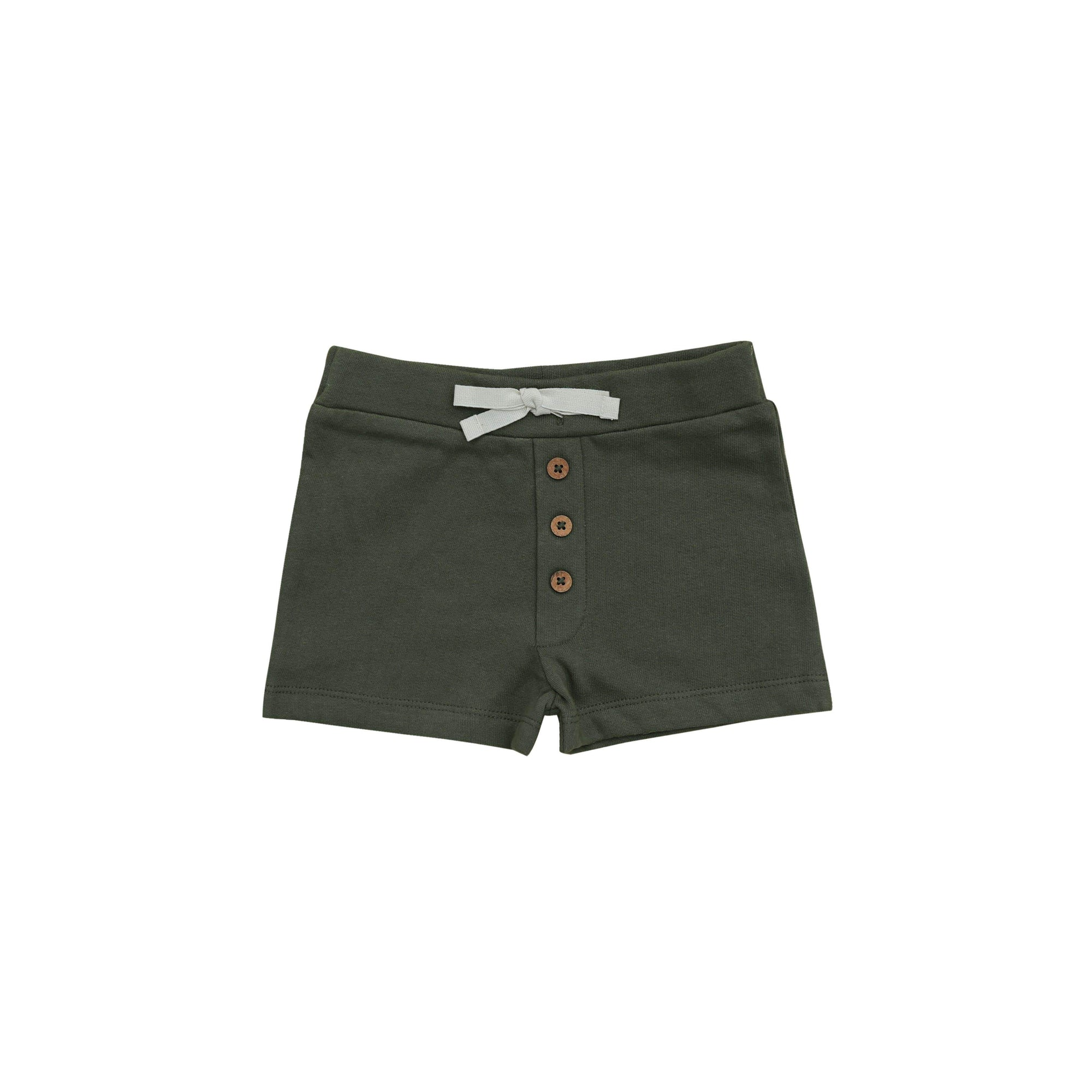 Fir Button Shorts