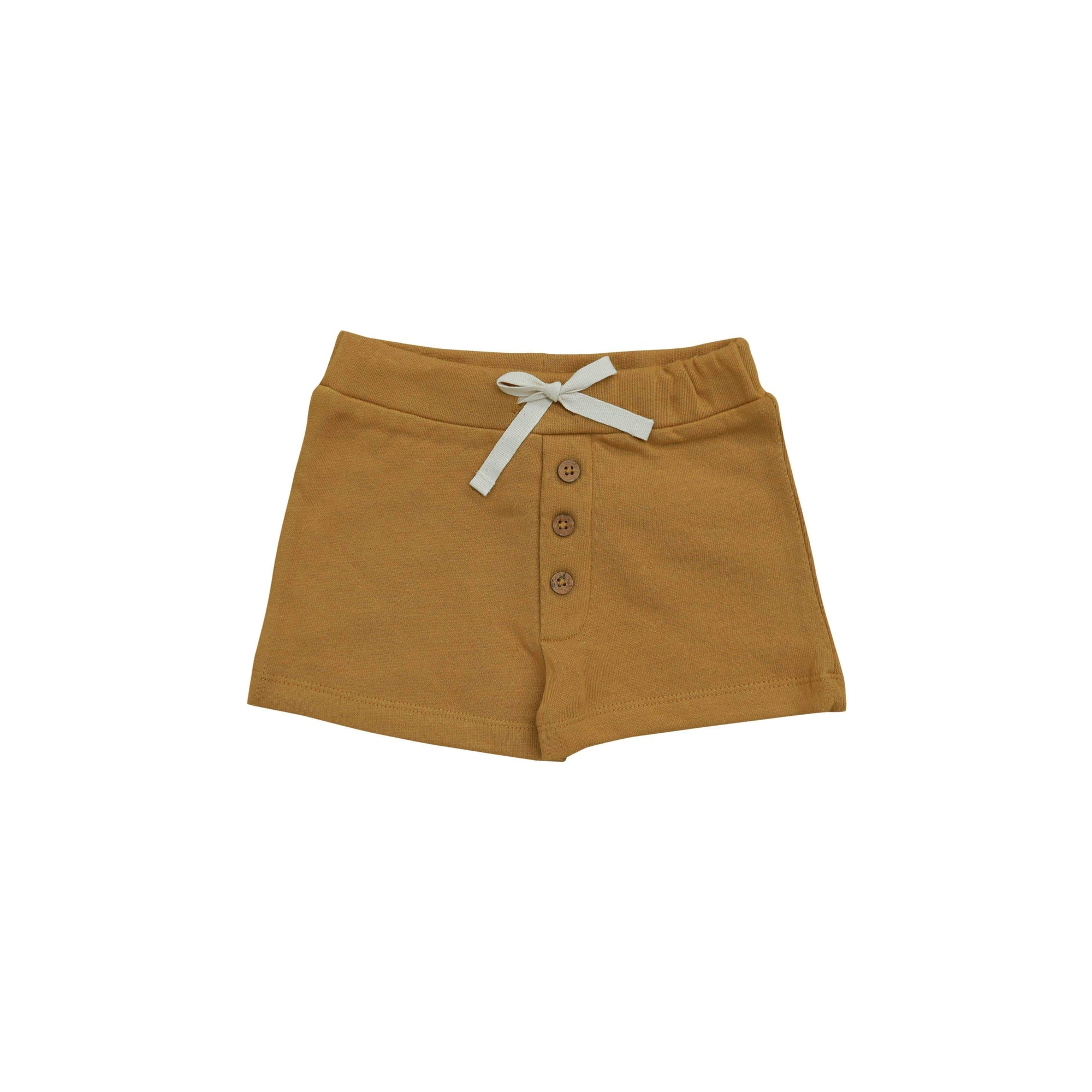 Buck & Baa Shorts Gold Button Shorts