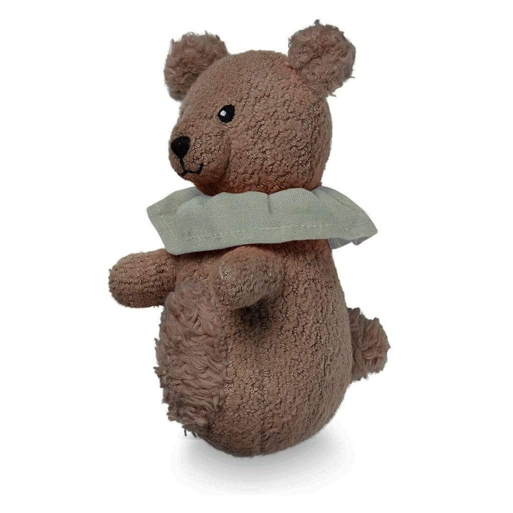 Cam Cam Rattles Soft Animal Rattle - Bear