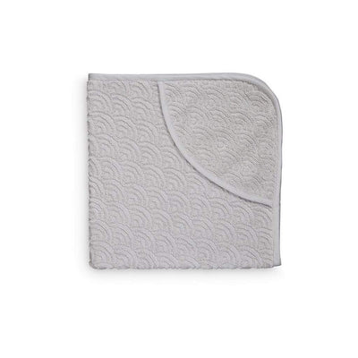 Cam Cam Towels Grey Cam Cam Hooded Wave Baby Towel