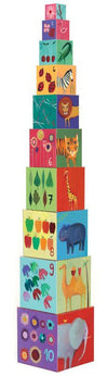 Djeco Toys Djeco Nature and Animal Blocks