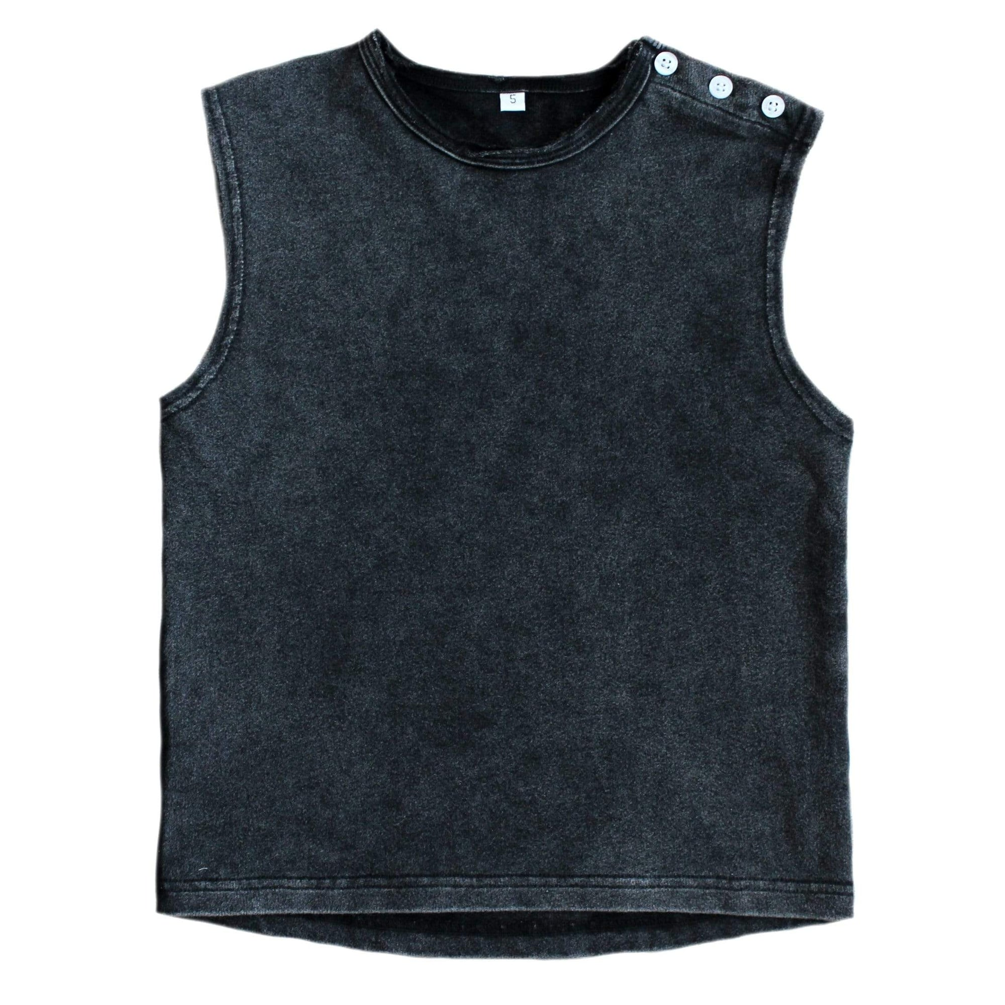 Duke of London T Shirt 6 Duke of London Muscle Tank - Acid Black