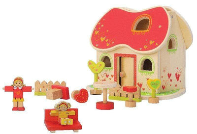 Ever Earth Wooden Toys Ever Earth Fairy Tale Dolls House
