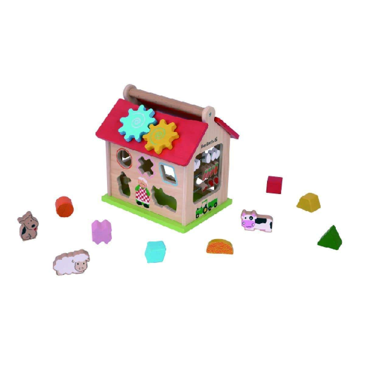 Ever Earth Farm Shape Sorter