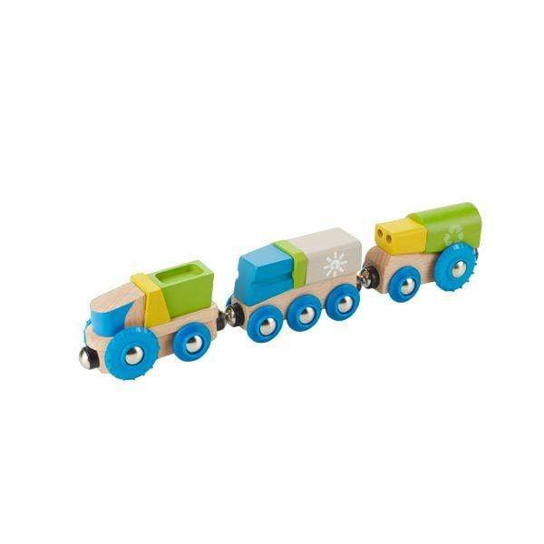 Ever Earth Wooden Toys Ever Earth Recycling Train
