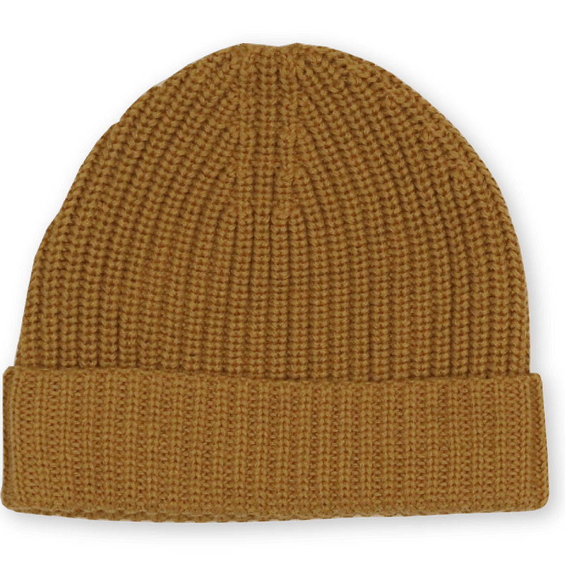 Grown Beanies XS (NB - 6M) Ribbed Essential Beanie - Marigold