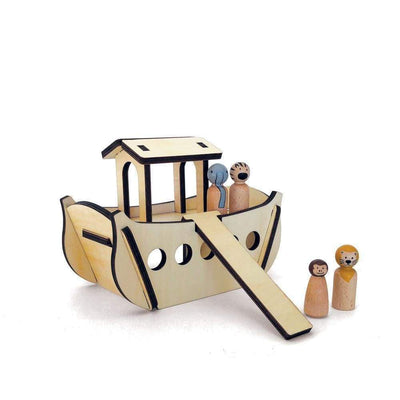 Have a Nice Day Wooden Toys Ark Build and Play Set