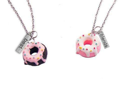 Huckleberry DIY Craft Huckleberry BFF Necklace Donut Time