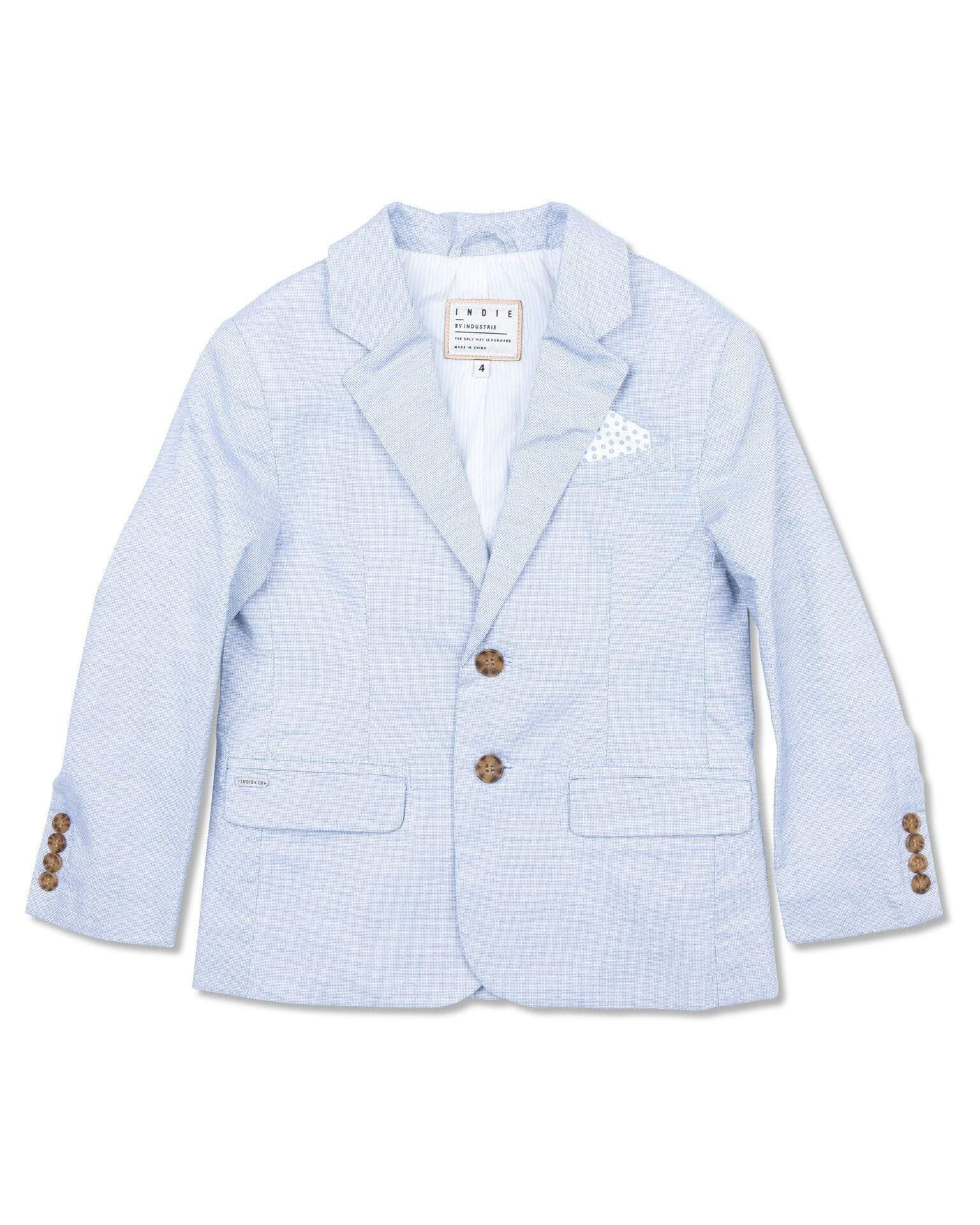 Indie Kids Jackets 8 Indie Kids Houndstooth Blazer Blue
