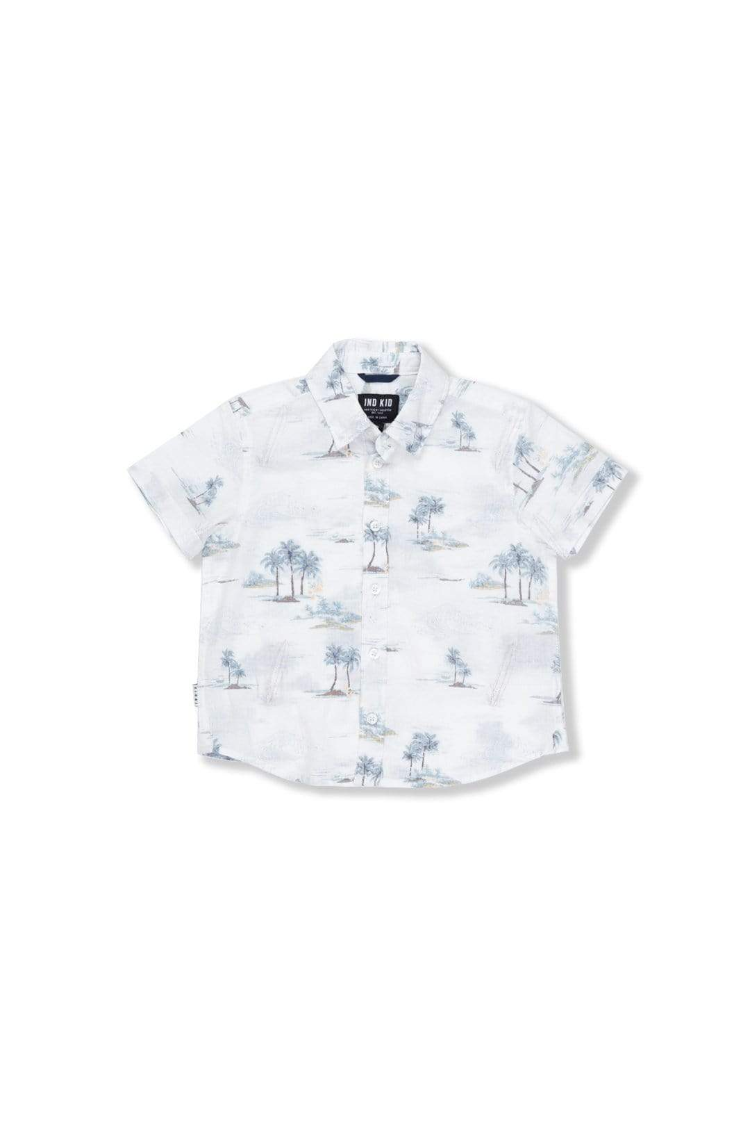 Hawaiian SS Shirt - Off White