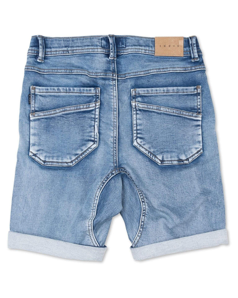 S19 Drifter Short Lt Denim