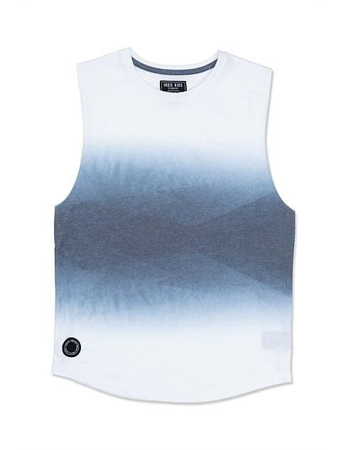 Indie Kids Singlets Abstract Muscle - White