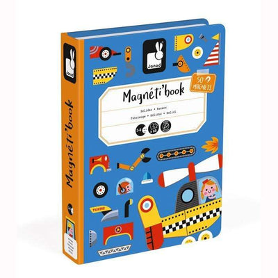 Janod Toys Racers Magnetic Book Janod