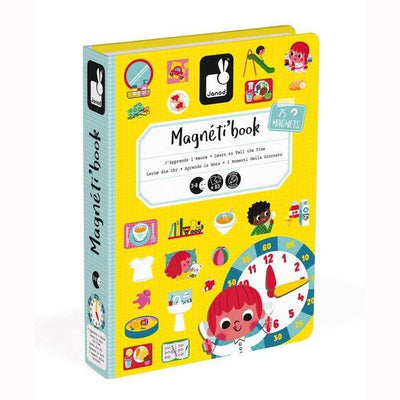 Janod Toys Time Magnetic Book Janod