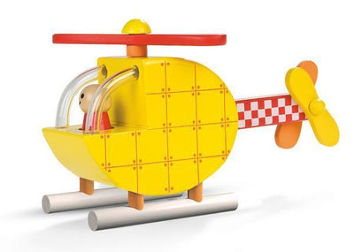 Janod Wooden Toys Magnetic Helicopter