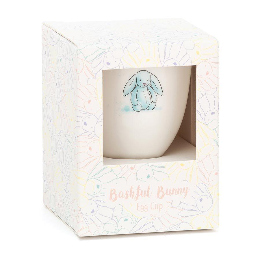 Jelly Cat Dinnerware Bashful Bunny Egg Cup - Blue