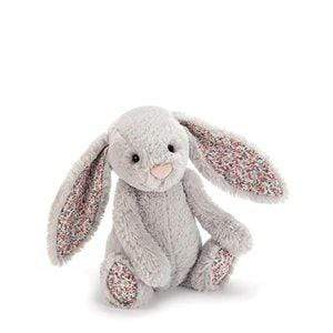 Jelly Cat Soft Toys Bashful Blossom Silver Bunny - Medium