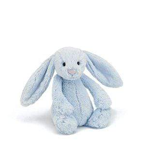 Jelly Cat Soft Toys Bashful Blue Bunny - Medium