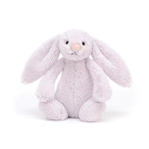Jelly Cat Soft Toys Bashful Lavender Bunny - Medium