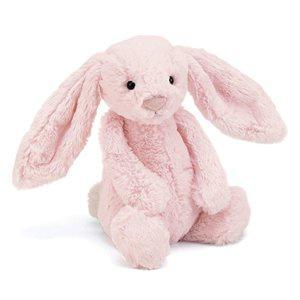 Jelly Cat Soft Toys Bashful Pink Bunny - Medium
