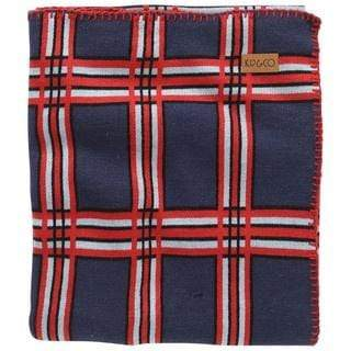 Kip & Co Blankets Baby Blanket -  Denim Tartan