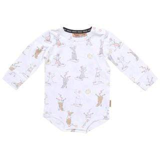 Kip & Co Rompers Organic LS Romper - Mousing Around