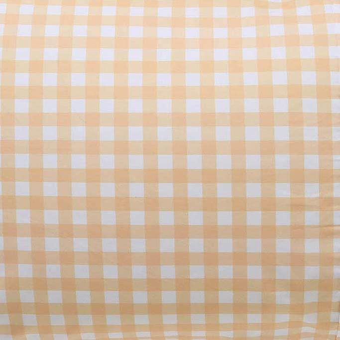 Kip & Co Sheets Kip & Co Gingham Fitted Cot Sheet