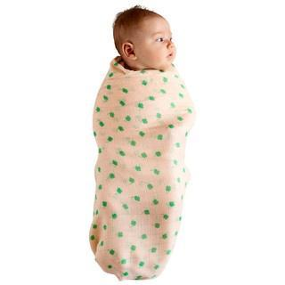 Kip & Co Wraps Bamboo Swaddle - Four Leaf Clover