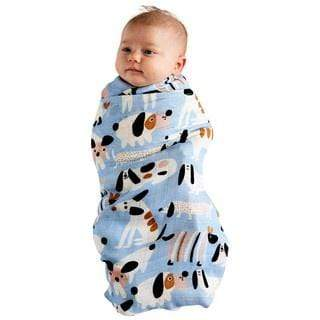 Kip & Co Wraps Bamboo Swaddle - Sir Fred