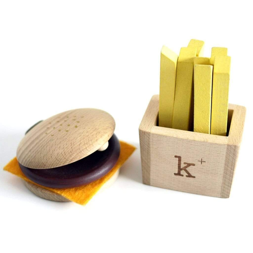 Kukkia Wooden Toys Hamburger Set