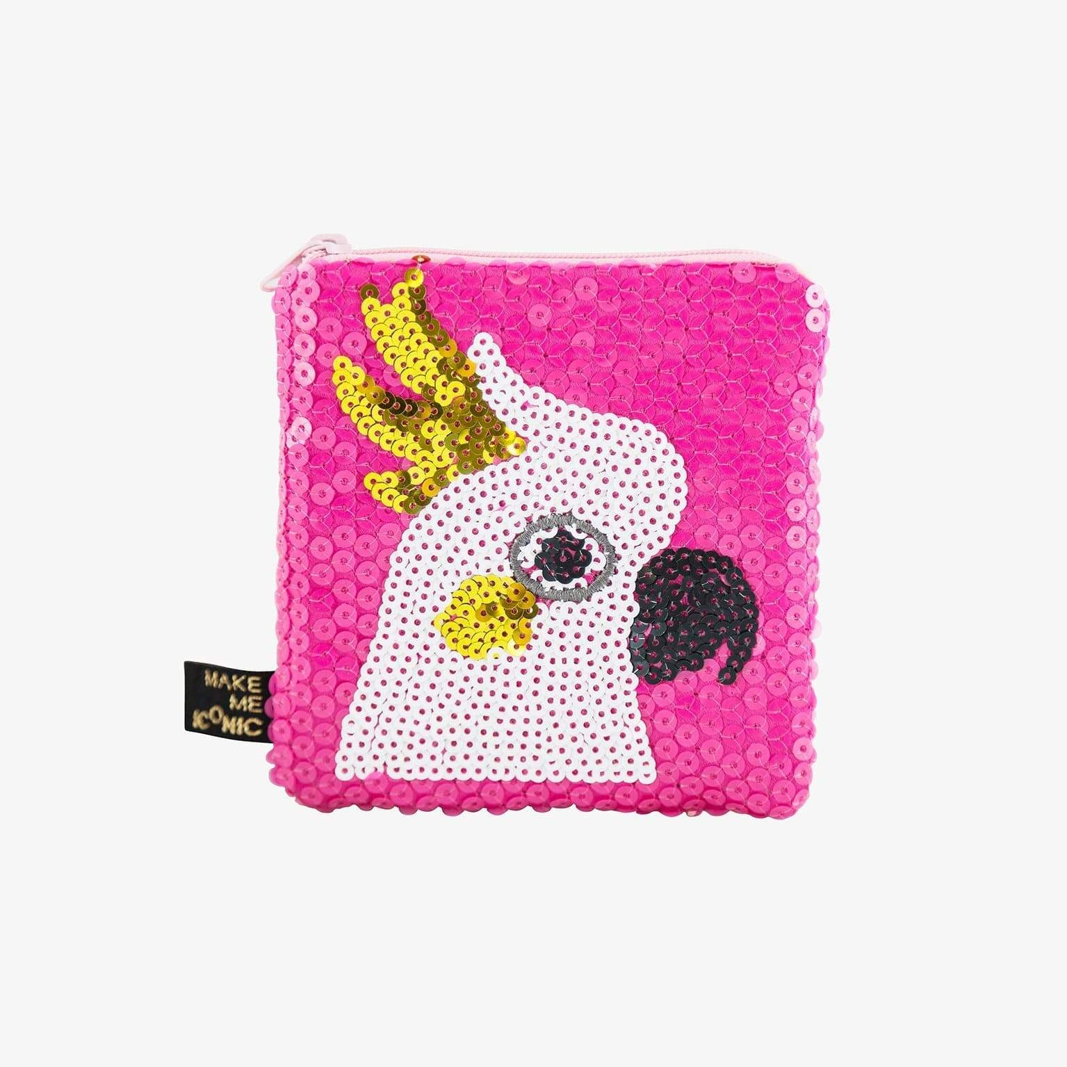 Make me Iconic Accessories Sequin Purse - Cockatoo